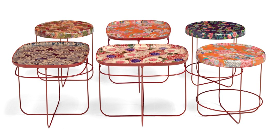 Ukiyo low table by Kazuhiko Tomita for Moroso - How to give life to your interior with floral pattern? | Aliz's Wonderland