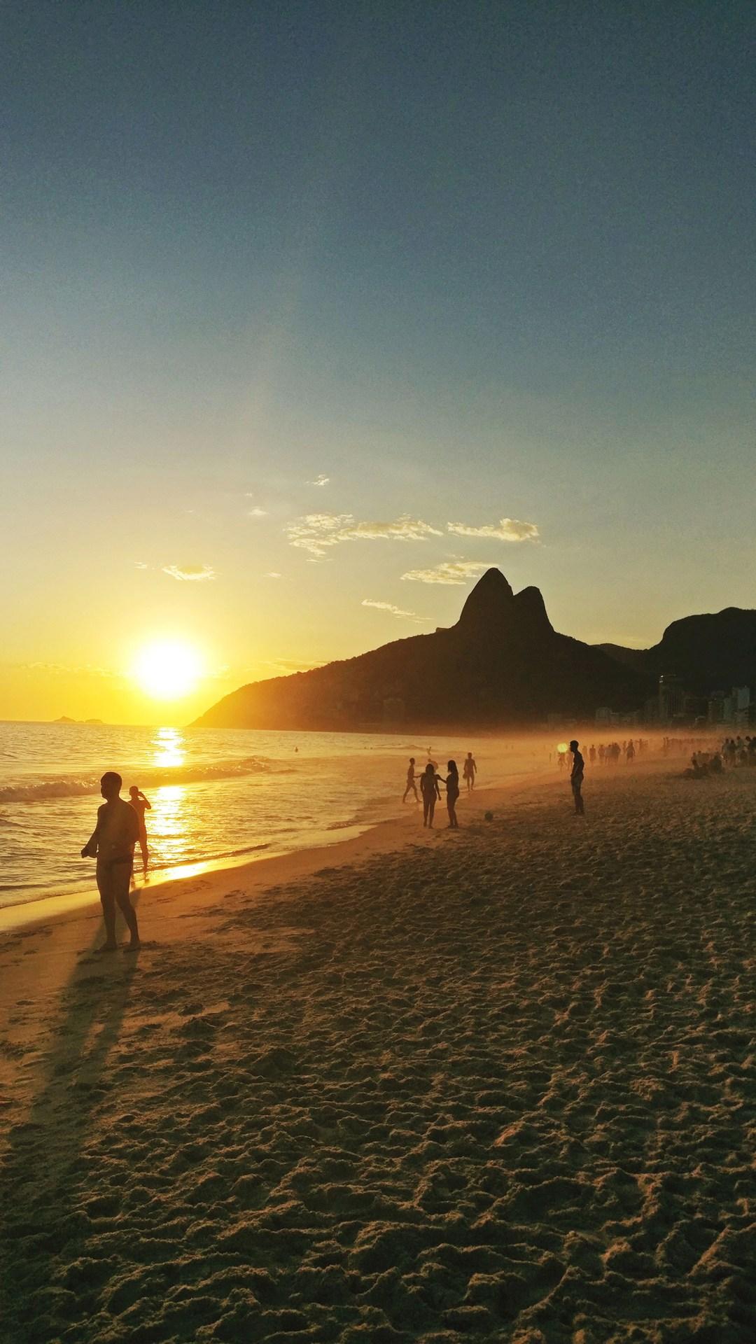 Sunset at Praia de Ipanema - Best beaches in Rio de Janeiro   Aliz's Wonderland
