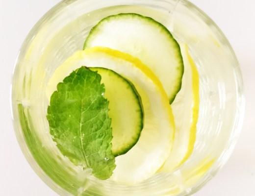 Easy to make tasty detox lemonade with 5 ingredients | Aliz's Wonderland