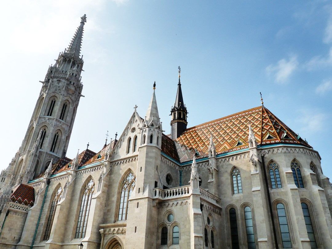 Matthias Church Tower, Castle District - Top 5 viewpoints in Budapest Hungary, recommended by a local | Aliz's Wonderland