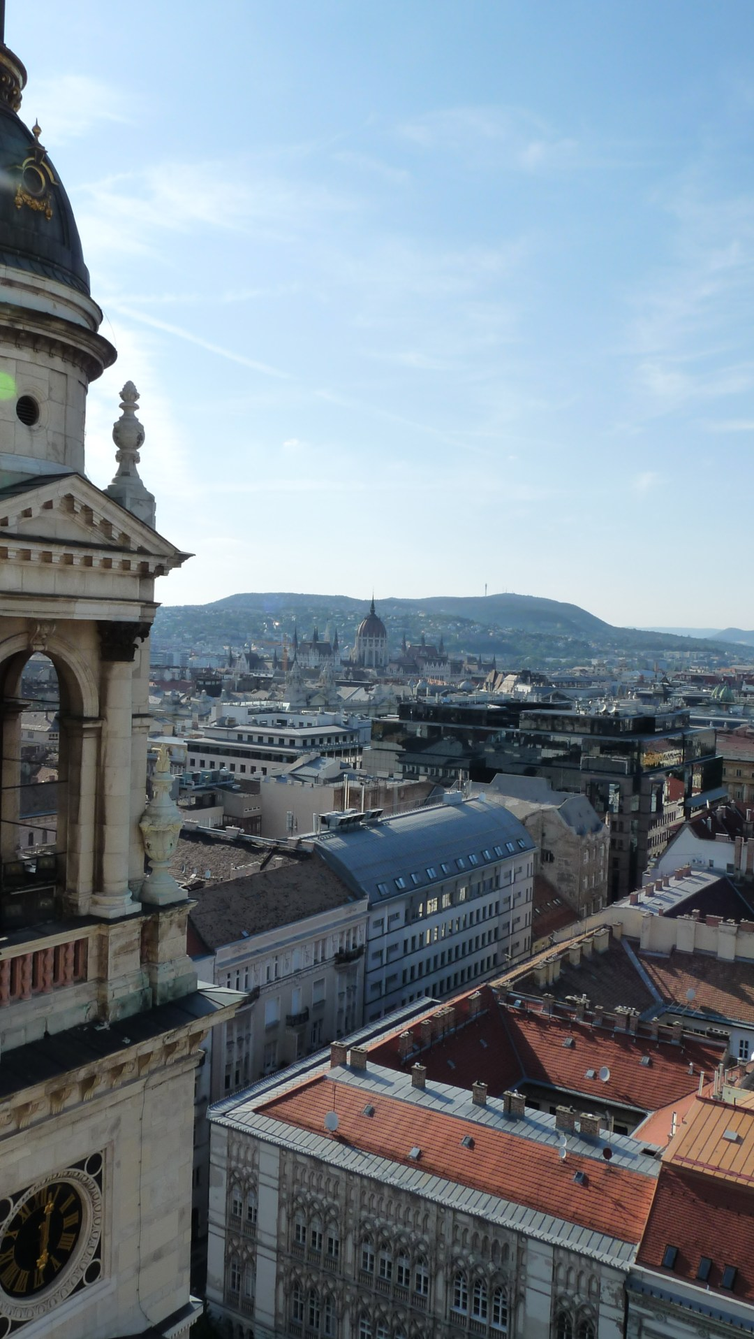 View from Panorama Lookout Tower of St. Stephen's Basilica - Top 5 viewpoints in Budapest Hungary, recommended by a local | Aliz's Wonderland