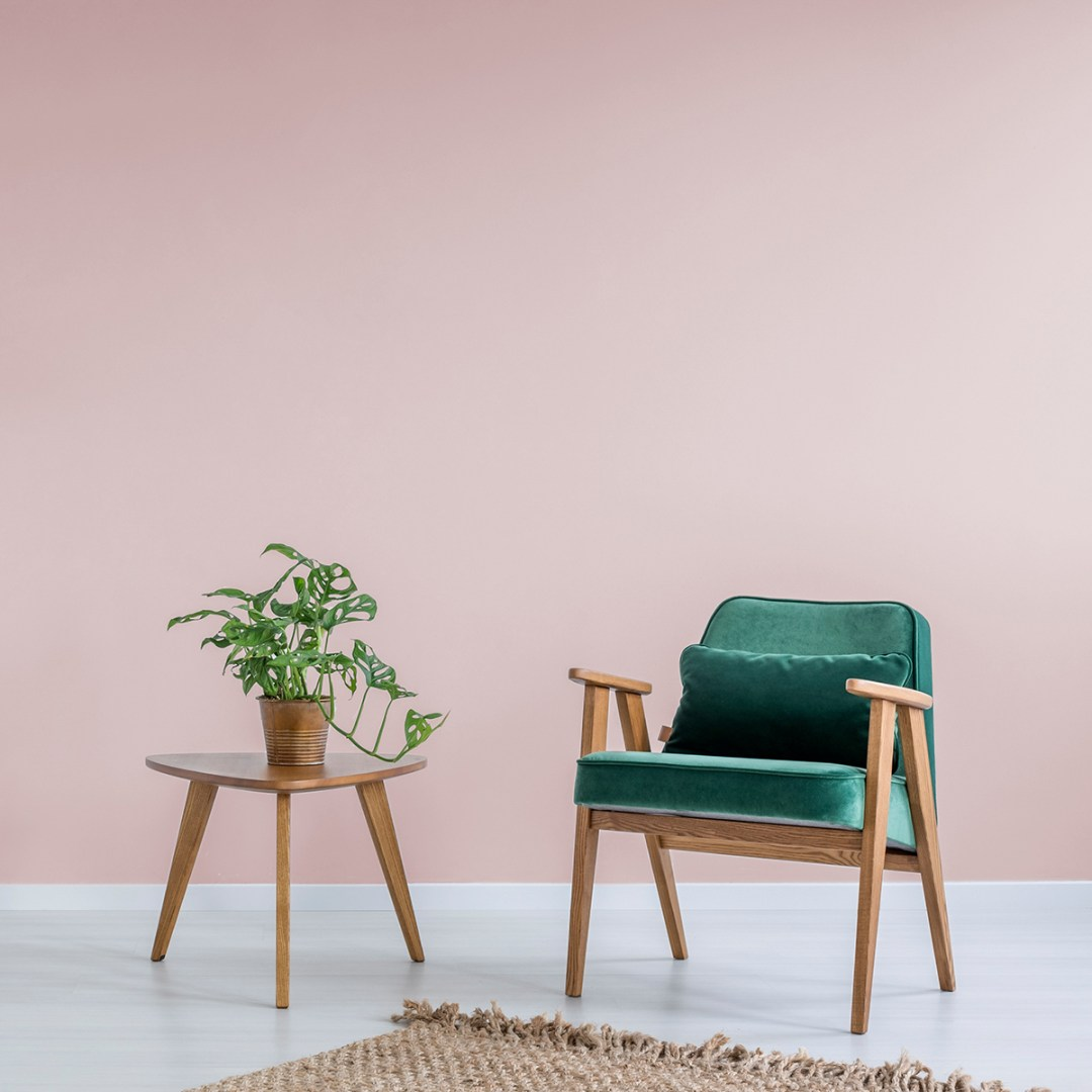 Vintro luxury paint's Madame de Pompadour pink shade - Warm up your home with pink wall colour | Aliz's Wonderland