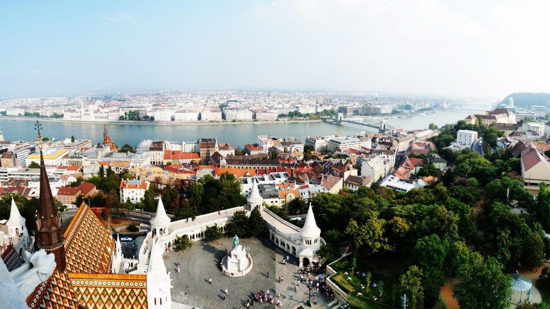 The view from Matthias Church - 40 reasons to fall in love with Budapest | Aliz's Wonderland