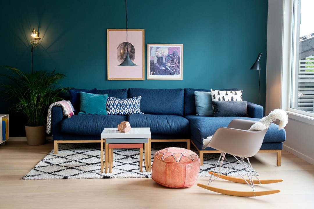 35 ideas for blue wall colour in home decoration - Aliz's ...