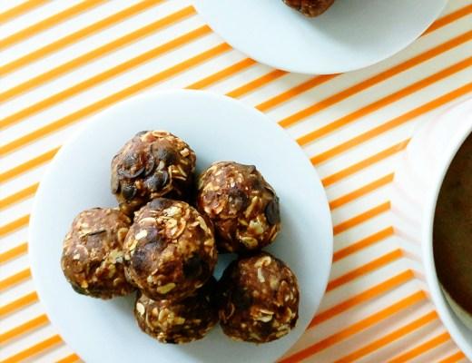 Peanut butter chocolate energy bites with oats   Aliz's Wonderland #energybite #snack #peanutbutter