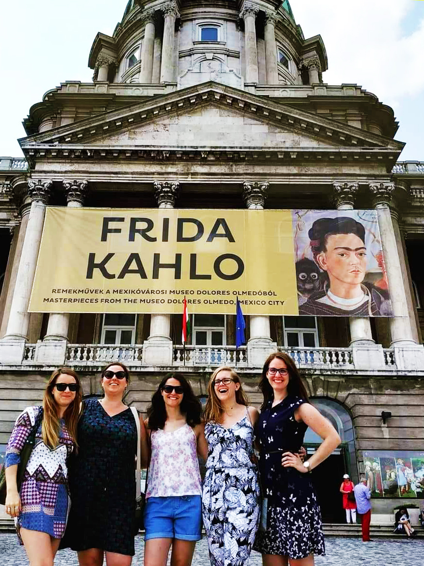 Visit the Hungarian National Gallery for the Frida Kahlo exhibition - A local's travel guide to Budapest, Hungary - How to get to Budapest? Where to stay? What to do? Where to eat? | Aliz's Wonderland #Budapest #travelguide #Budapestguide