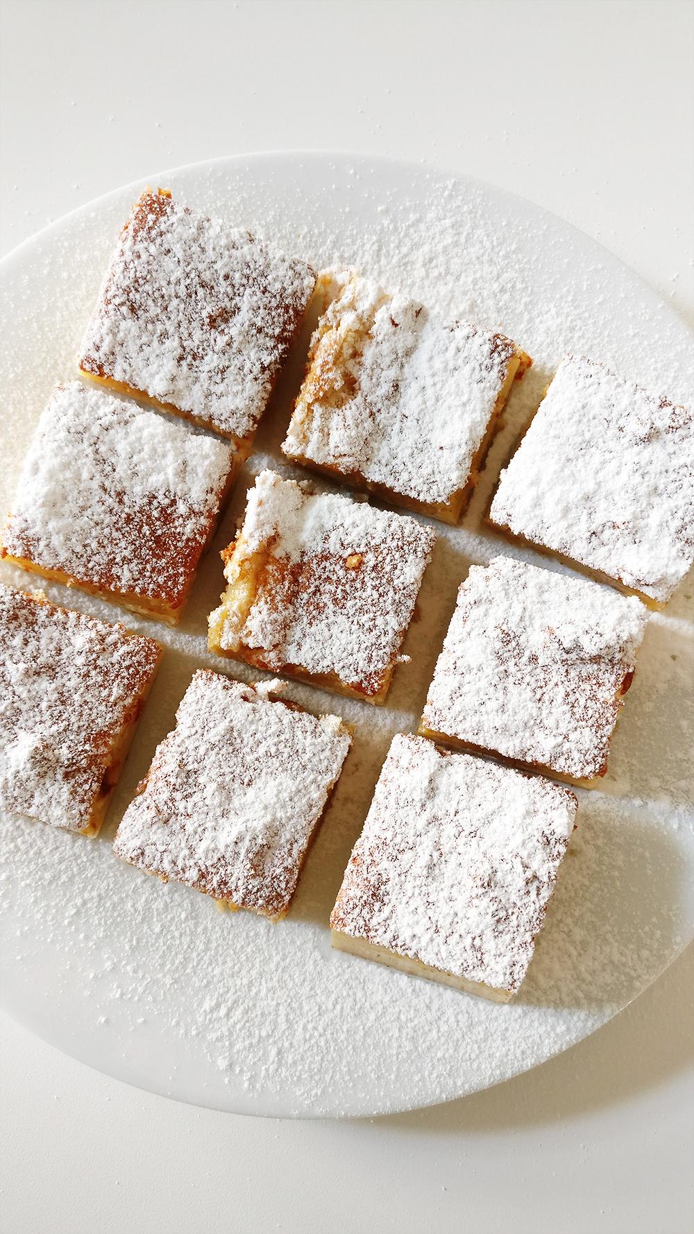 Delicious milky vanilla bars   Aliz's Wonderland #vanillabar #vanillacurd #dessert #milkybar #recipe