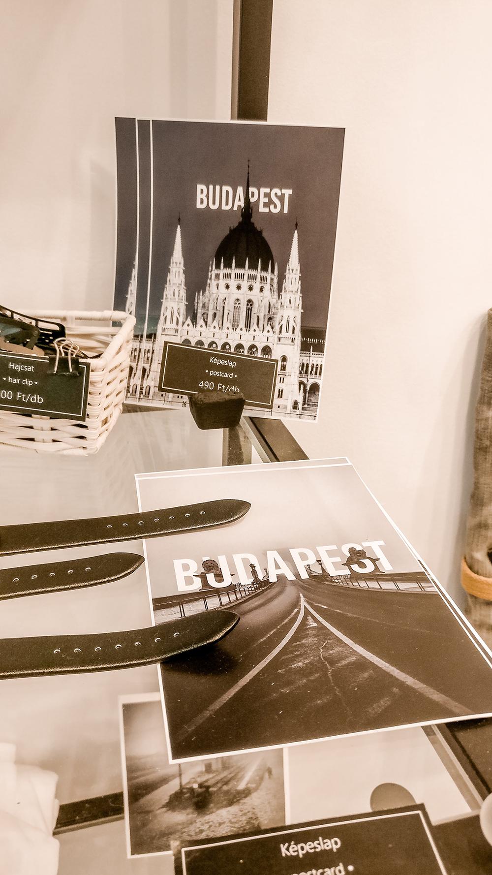 Postcards in Libabőr gift shop - Budapest design shop guide to best Hungarian souvenirs | Aliz's Wonderland