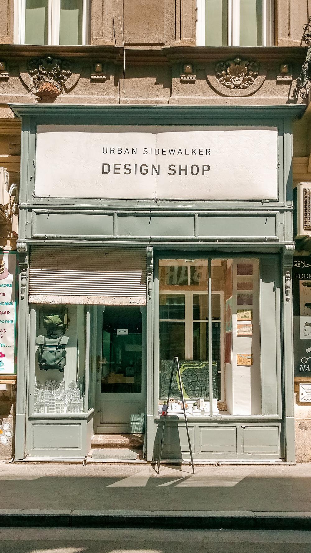 Urban Sidewalker Design Shop - Budapest design shop guide to best Hungarian souvenirs | Aliz's Wonderland