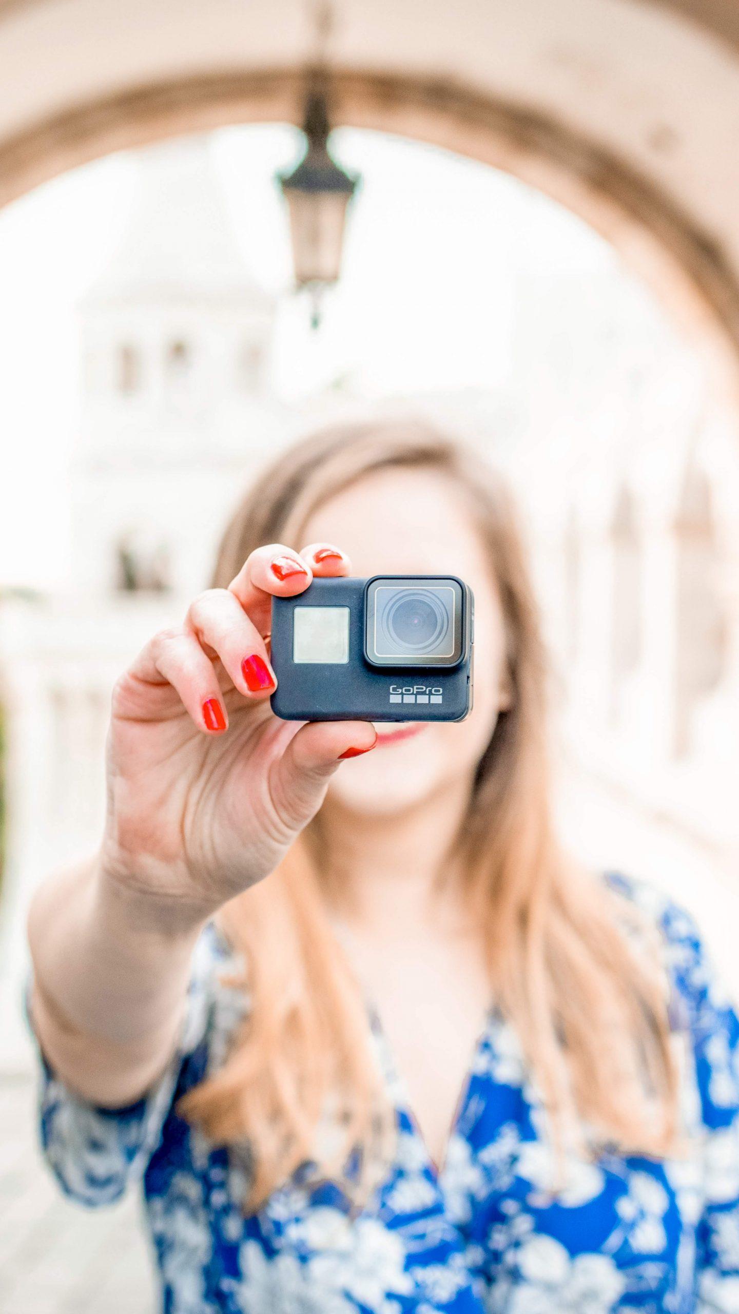 GoPro Hero black 7 - Useful gift ideas for travel lovers | Aliz's Wonderland #travel #giftideas #travelgift #christmasgift #birthdaygift