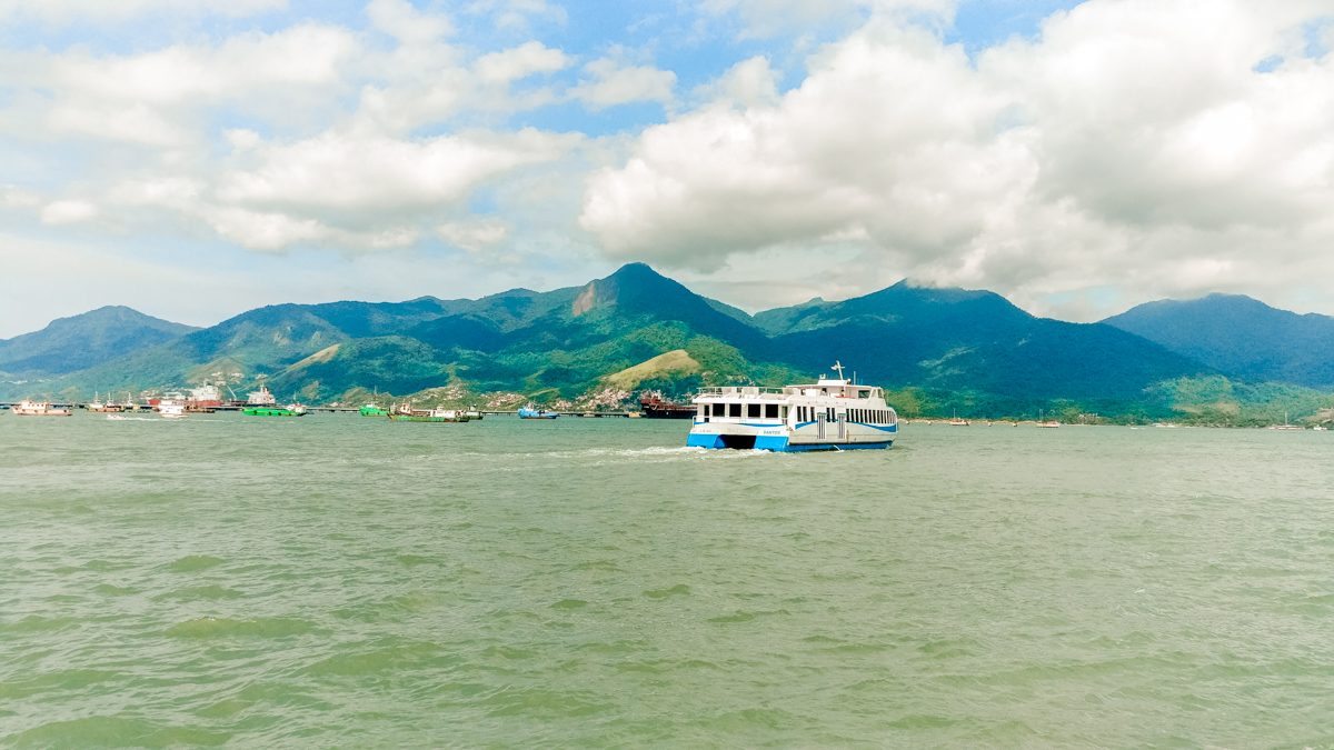 By ferry from São Sebastião to Ilhabela - Ilhabela travel guide - what to do and where to go | Aliz's Wonderland