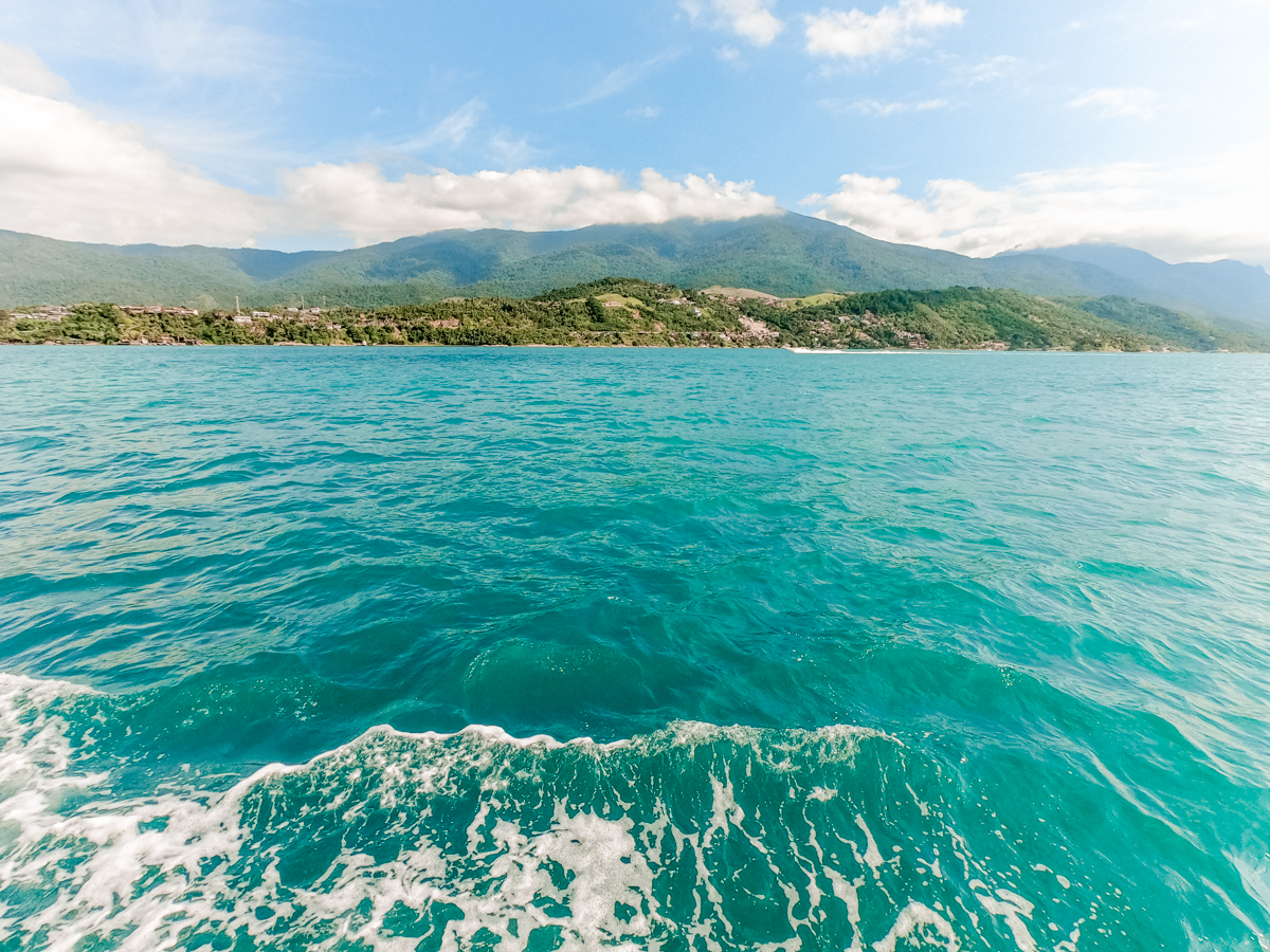 On the way to Ilhabela by ferry - How to spend 3 days in Ilhabela, Brazil? | Aliz's Wonderland