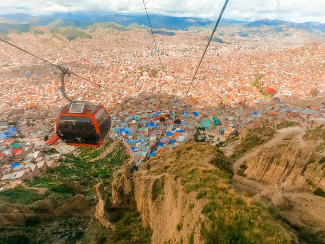 Mi Teleférico (cable car network) - Best places to visit in La Paz, Bolivia | Aliz's Wonderland
