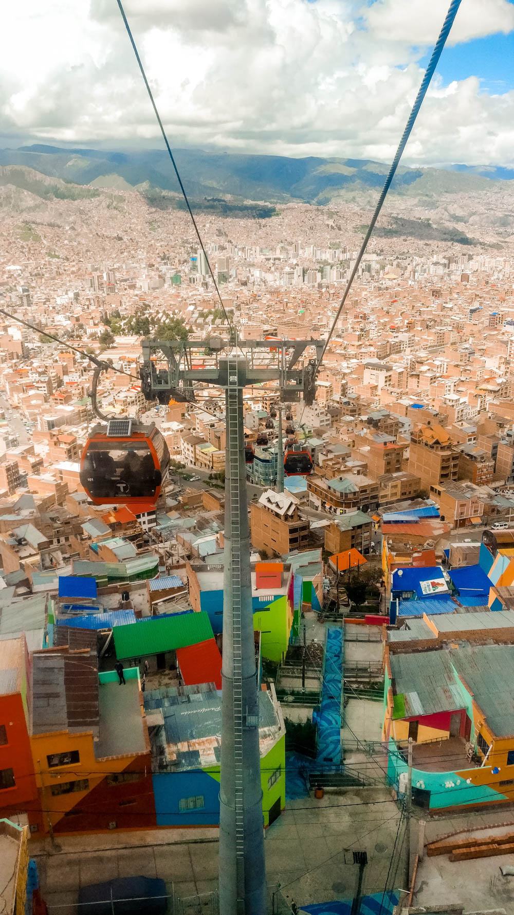 Mi Teleférico (cable car network) in La Paz - Bolivia 2-week itinerary and travel guide | Aliz's Wonderland