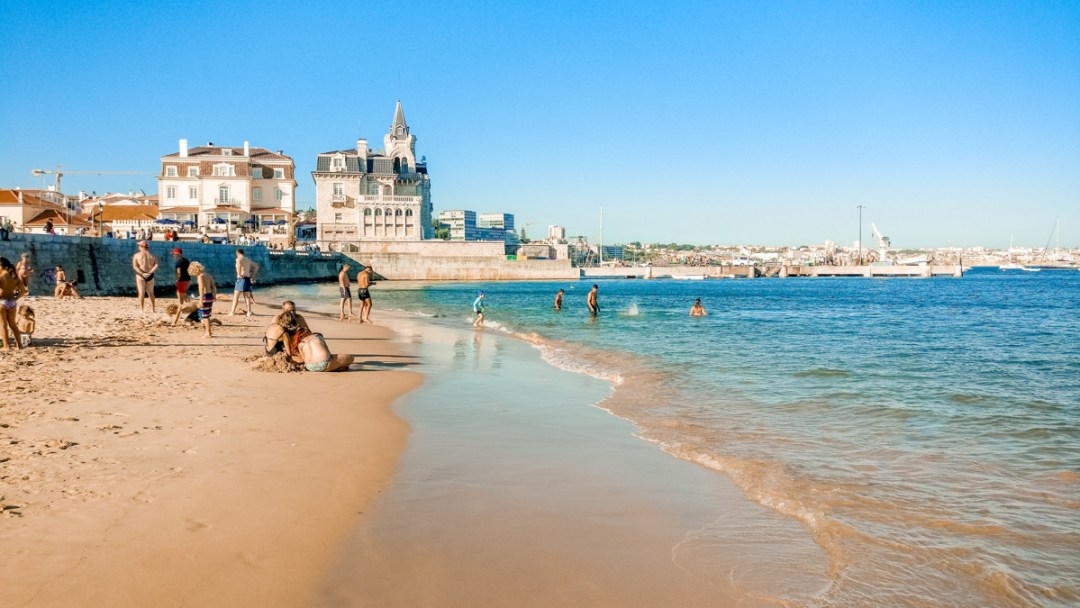 Praia da Ribeira in Cascais - 5 things you need to experience in Lisbon, Portugal   Aliz's Wonderland