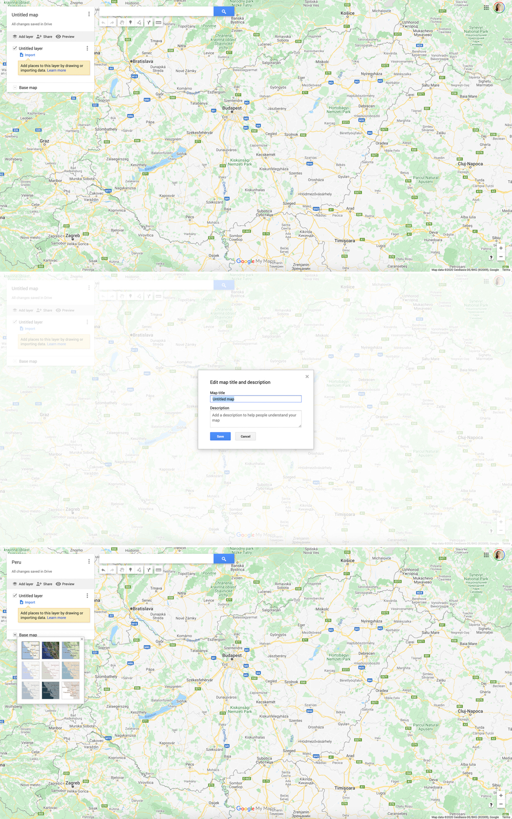 Create your 1st Google My Maps using your Google account - How to plan your travel itinerary with Google My Maps? | Aliz's Wonderland