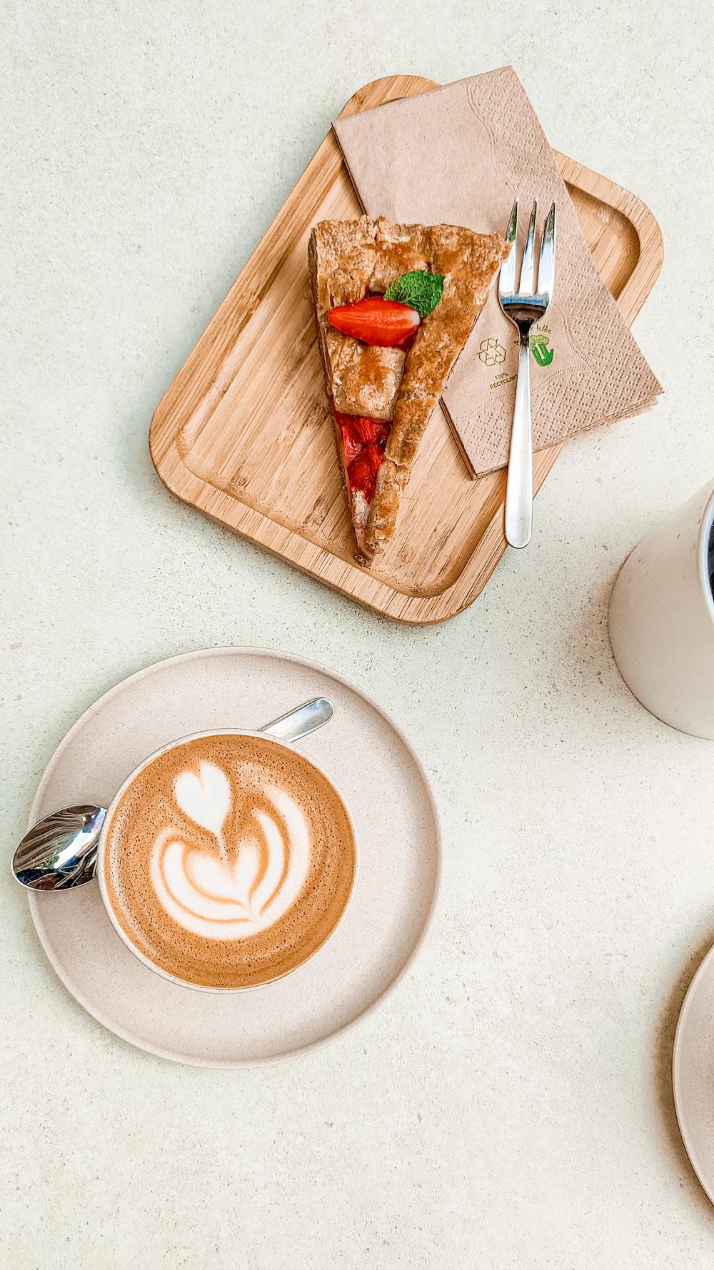 Flat white at Caphe by Hai Nam - 10 must-visit stylish specialty coffee shops in Budapest, Hungary   Aliz's Wonderland
