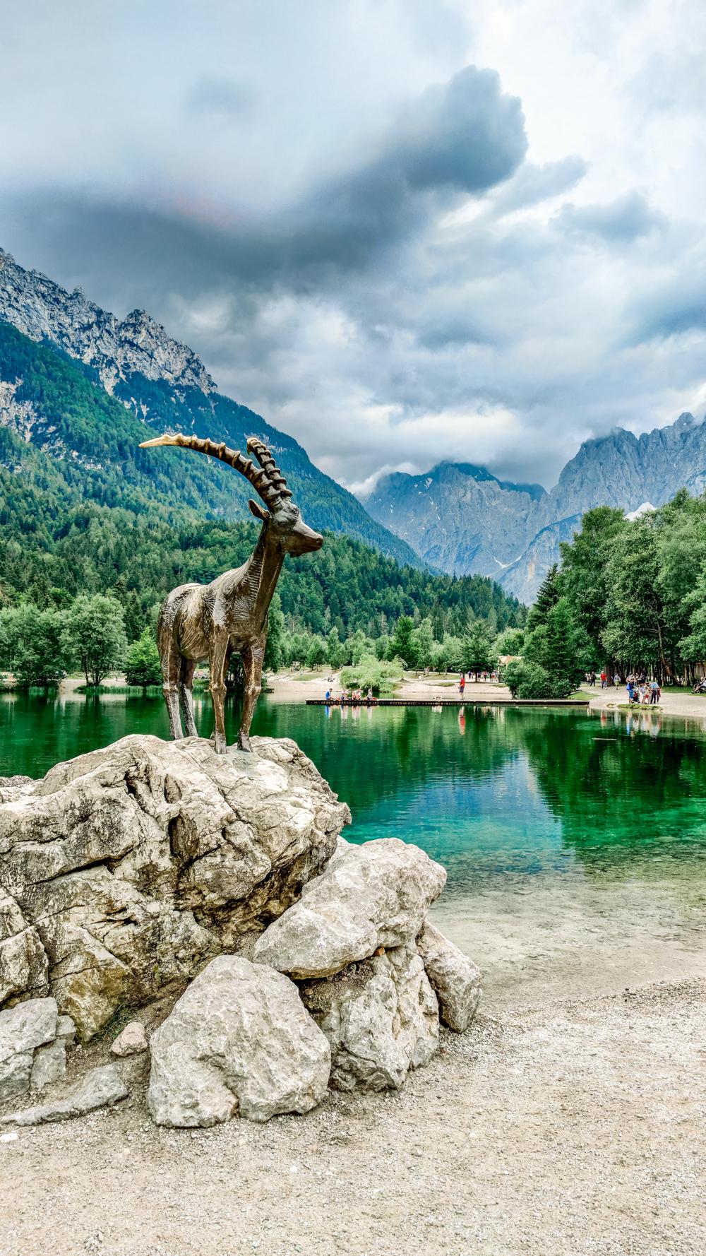 Lake Jasna and the Alpine ibex called Zlatorog - 4-day Slovenia travel itinerary for the best outdoor adventures | Aliz's Wonderland