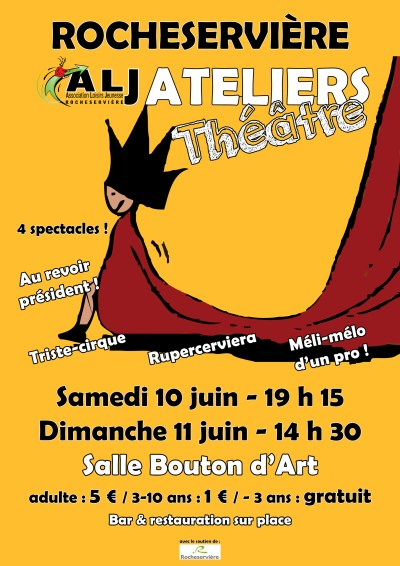 Affiche Atelier théatre 2017