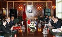 رئيس مجلس المستشارين يتباحث مع أعضاء يمثلون اللجنة البرلمانية المشتركة المغربية الأوربية