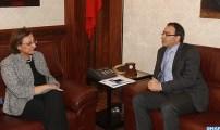 كريم غلاب يبحث مع مسؤولة أوروبية آفاق التعاون بين البرلمان المغربي ومجلس أوروبا