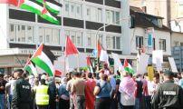 مظاهرة بمدينة دوسلدورف ضد الغارات الاسرائلية