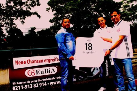 رجل أعمال مغربي يدعم فريق لكرة القدم بالمانيا
