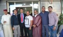 إفتتاح مكتب * تأمينات أكسا * بمدينة الدريوش لصاحبها الشاب اليافع يسير نوفل.