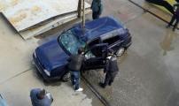 بالفيديو مصرع مهاجر مغربي بعد سقوط سيارته من باخرة بميناء سبتة المحتلة