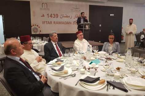 المجلس الأوروبي للعلماء المغاربة و تجمع مسلمي بلجيكا يقيمان حفل إفطار بهيج ببروكسيل.