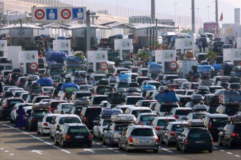 السلطة المينائية لطنجة المتوسط   تسجل عبور أزيد من مليون ونصف مسافر خلال إنتهاء عملية عبور 2018.