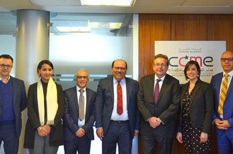 وفد بلجيكي يناقش قضايا الهجرة والثقافة والدين بمجلس الجالية المغربية بالخارج.