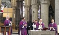المجلس الأوروبي للعلماء المغاربة يشارك في حفل تأبين الكاردينال دانيلس Godfried Danneels بكاتدرائية سان ميشيل-إي-غوديل