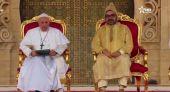 نص الخطاب الملكي أثناء استقبال قداسة البابا في الرباط.