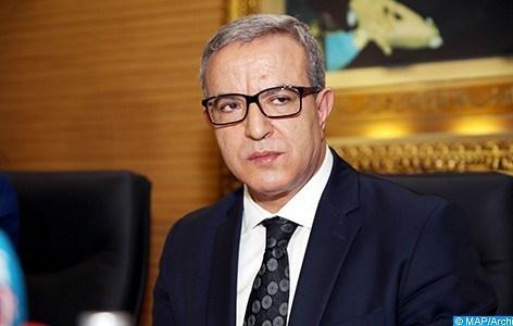 """وزير العدل """"محمد أوجار"""" رئيس شرفي للدورة الثامنة للمهرجان الدولي لسينما الذاكرة المشتركة للناظور-أكتوبر المقبل"""