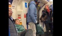 مسلمة تدافع عن عائلة يهودية في حافلة بلندن
