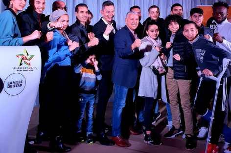 RÉCEPTION DES CHAMPIONS DE BELGIQUE 2018-2019 LE VENDREDI 7 février 2020