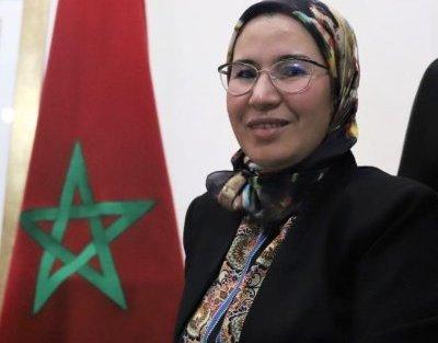 وزيرة الجالية نزهة الوافي تعقد لقاءا مع الجالية المغربية بمونريال الكندية