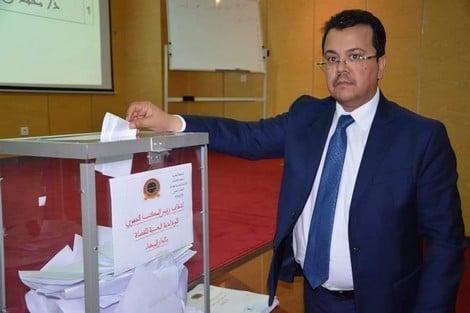 انتخاب محمد رضوان نائبا لرئيس الودادية الحسنية للقضاة .