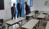 بالمضيق الفنيدق المدير الإقليمي للتعليم في زيارات ميدانية لمراكز الإمتحان الجهوي