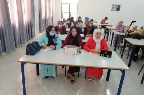 جمعية ايمن للتوحد بالناظور تفتتح الايام التكوينية لفائدة مربياتها للموسم الدراسي الحالي. +(صور)