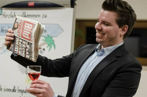Alja Renk macht Wasser zu Wein
