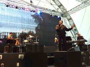 Al Jarreau, back on the stage, in Germany on August 3