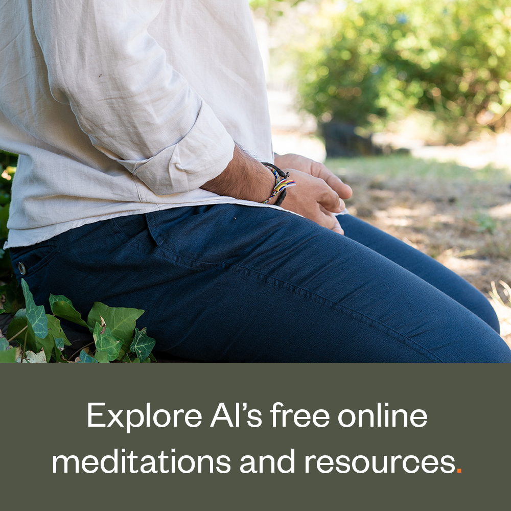 Explore Al's free online meditations and resources.