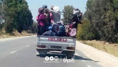 القصرين: إصابة 11 عاملا فلاحيا في انقلاب شاحنة