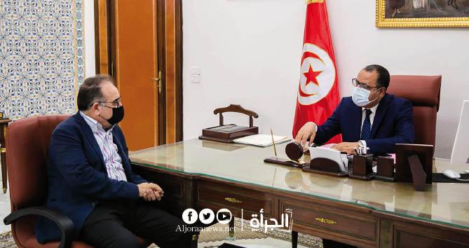 المشيشي يستقبل الطرابلسي ويؤكد: يجب تحسين أداء وزارة الصحة في هذا الظرف الصعب