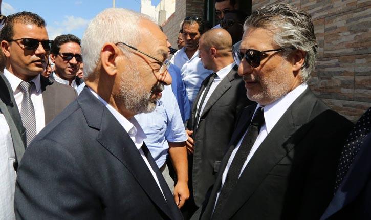 النهضة : لم يعد هناك حوار بعد خروج نبيل القروي من السجن