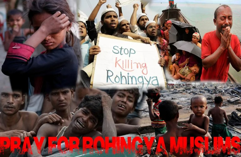 On the Appalling Persecution of the Rohingya Muslims of Myanmar