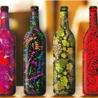 Ways to Reuse Wine Bottles