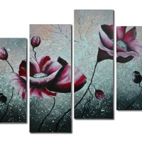 3, 4 and 5 Pieces Modern Art Paintings